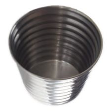 American Metalcraft RSC4 Ribbed S/S 4 Oz. Sauce Cup