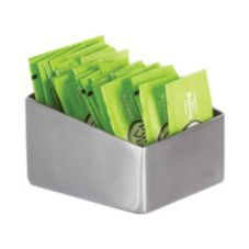 American Metalcraft RTSSPH3 S/S Slanted Sugar Packet / Cube Holder