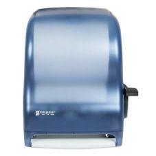 San Jamar® T1100TBL Arctic Blue Lever Roll Paper Towel Dispenser