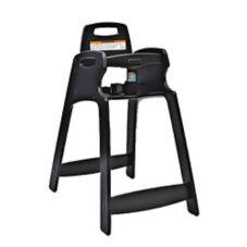 Koala Kare 333-BLK-KD Unassembled Black ECO Chair High Chair