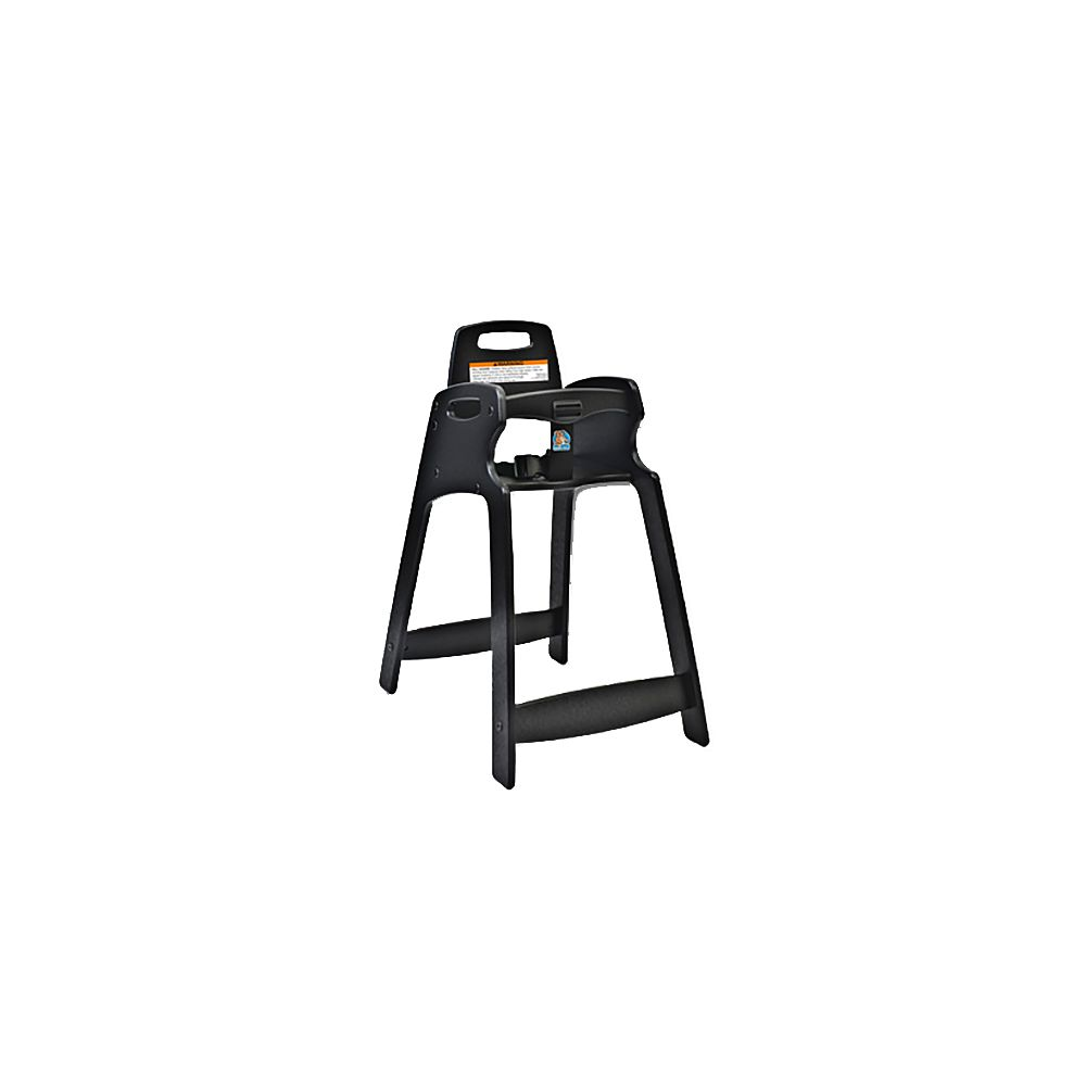 ECO Chair Central Specialties 333-BLK-KD Unassembled Black  High Chair at Sears.com