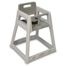 """Koala Kare KB850-01 Gray Plastic 28"""" High Chair"""