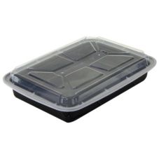 Newspring® VERSAtainer® 16 Oz. Black Rectangular Container