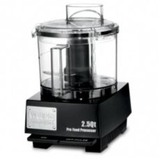 Waring WFP11SW 2.5 Qt 120V Food Processor w/ Whipping Disc and Blade