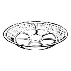 "HFA® 4002-30-500 8"" Foil Pie Plate - 500 / CS"