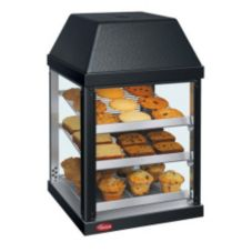 Hatco MDW-1X BLACK Counter Display 1-Door Mini Warmer with (3) Shelves