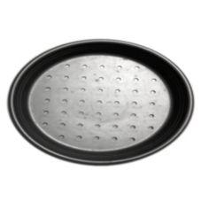 """Carlson BI-09DDP-HC Perforated 9"""" Pizza Pan - Dozen"""