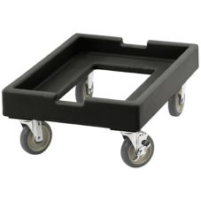 "Cambro CD1826PDB110 Black 18"" x 26"" Camdolly for Pizza Dough Boxes"