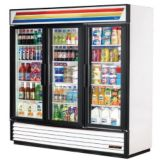 True Three Section Refrigerator Merchandiser, Model GDM-72