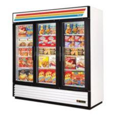 True® GDM-72F-LD Three Section Freezer Merchandiser