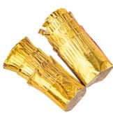 Goldmax 35111035 Gold Foil Paper Chop Holders - 2500 / CS