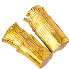 Goldmax 10351 Gold Foil Paper Chop Holders - 2500 / CS
