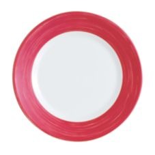 "Cardinal H1769 Arcoroc Brushed Cherry 10"" Round Plate - 24 / CS"