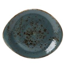 "Steelite International Narrow Rim Craft Blue Freestyle 10"" Plate"