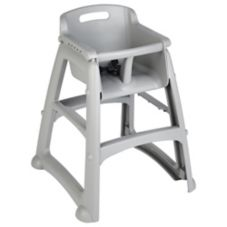 Rubbermaid® FG781408PLAT RTA Youth Seat Sturdy Chair / No Wheels