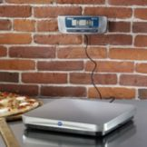 Edlund EPZ-10 FH 10 lb. Digital Pizza Scale with Foot Tare Switch