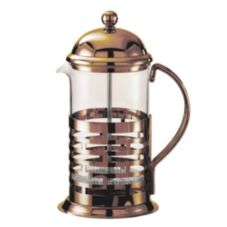 Service Ideas T877BRNZ 1 Liter French Coffee Press