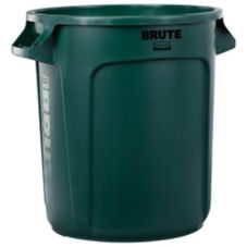Rubbermaid® FG261000GRN Green 10 Gallon Container