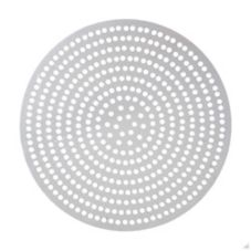 "American Metalcraft 18908SP Super Perforated 8"" Alum. Pizza Disk"