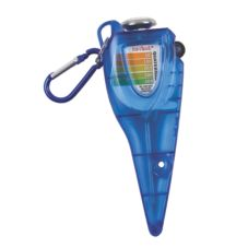 San Jamar Saf-Check Thermometer with Chlorine Test Strip