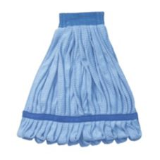 "Continental A10001 Small Blue 5"" Headband Microfiber Mop"