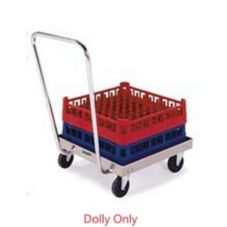 "Lakeside® 450 S/S 20.8"" x 20.8"" Rack Dolly With Handle"
