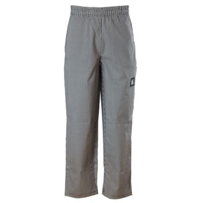 Chef Revival® P020HT-M Houndstooth Medium Baggy Chef Pants
