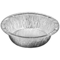 "HFA® 306-25-2000 8 Oz. Foil 5"" Pot Pie Pan - 2000 / CS"