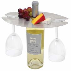 FOH RAH001BSS22 Stainless Tokyo Wine / Water Amenity Holder - 6 / CS