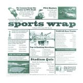 "Clipper Mill Sports Newsprint 12"" x 12"" Basket Liner"