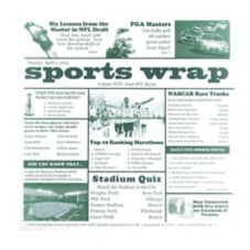 Clipper Mill 4-TG1080 Sports Newsprint Basket Liner - 1000 / CS