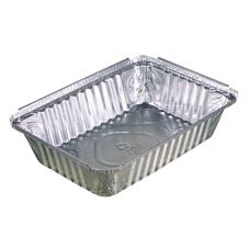Pactiv Y&8830 Oblong 2.25 Lb. Foil Pan - 400 / CS