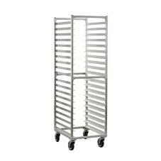 New Age Industrial 50773 End-Load 20-Bun Pan Capacity Rack