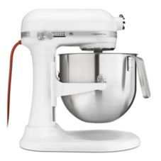 KitchenAid® KSM8990WH 1.3 HP 8 Qt. Commercial Mixer with S/S Bowl