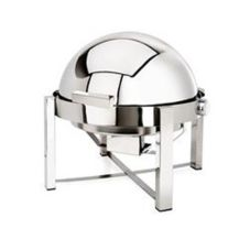 Eastern Tabletop 3148 Pillard P2 8 Qt. Stainless Round Chafing Dish