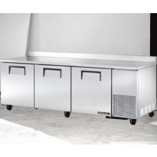 True® TWT-93 3-Section Deep Worktop Refrigerator