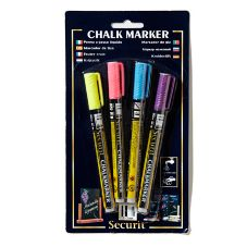 American Metalcraft BLSMA100V4TR Tropical Mini Markers - 4 / PK