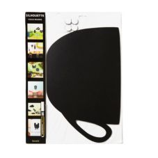"""American Metalcraft FBCUP 12 x 19"""" Cup Silhouette Chalk Board"""