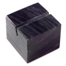American Metalcraft MCHB125 Black Marble Card Holder