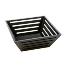 "American Metalcraft TWBB124 Birch 12"" Square X-Large Bread Basket"
