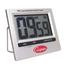 Cooper Atkins TW3-0-8 Stainless Steel Large Digit Timer