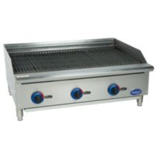 "Globe Food C36CB-SR Chefmate™ 36"" Radiant Gas Charbroiler"