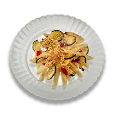 "EMI Yoshi EMI-REP9-CL Clear 9"" Plastic Dinner Plate - 180 / CS"
