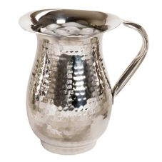 Myco Tableware CHBP200 Chagall Hammered 68 Oz. Footed Bell Pitcher