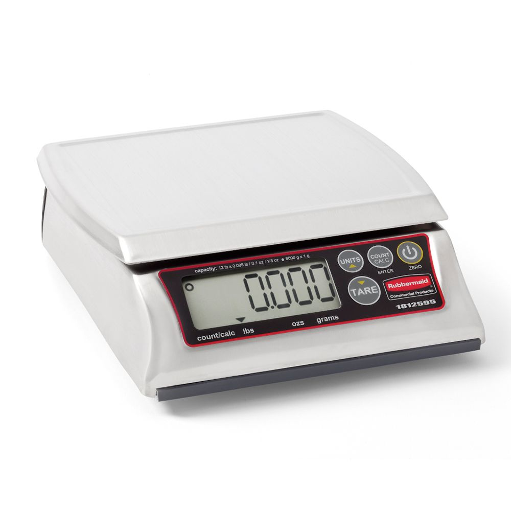 Rubbermaid 1812595 Premium 12 Lb. Digital Scale