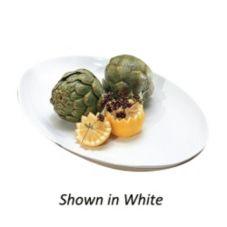 "Bon Chef 2026 TERRA COTTA Sandstone 17 x 12-1/4"" Coupe Platter"