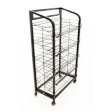 Mobile Merchandisers® B3051-B 5-Shelf Wire Display Rack