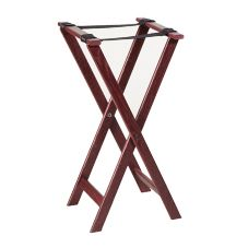 "American Metalcraft WTSM31 Mahogany 31"" Tray Stand"