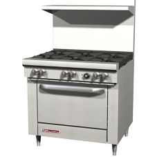 "Southbend S36D 6 Burner 36"" Gas Range with Oven"