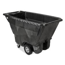 Rubbermaid® FG9T1400BLA Black Structural Foam 1/2 cu yd Tilt Truck
